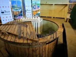 Badezuber mit Kunststoffeinsatz Vintage TimberIN 28