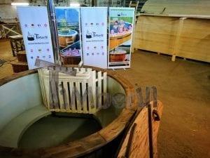 Badezuber mit Kunststoffeinsatz Vintage TimberIN 9