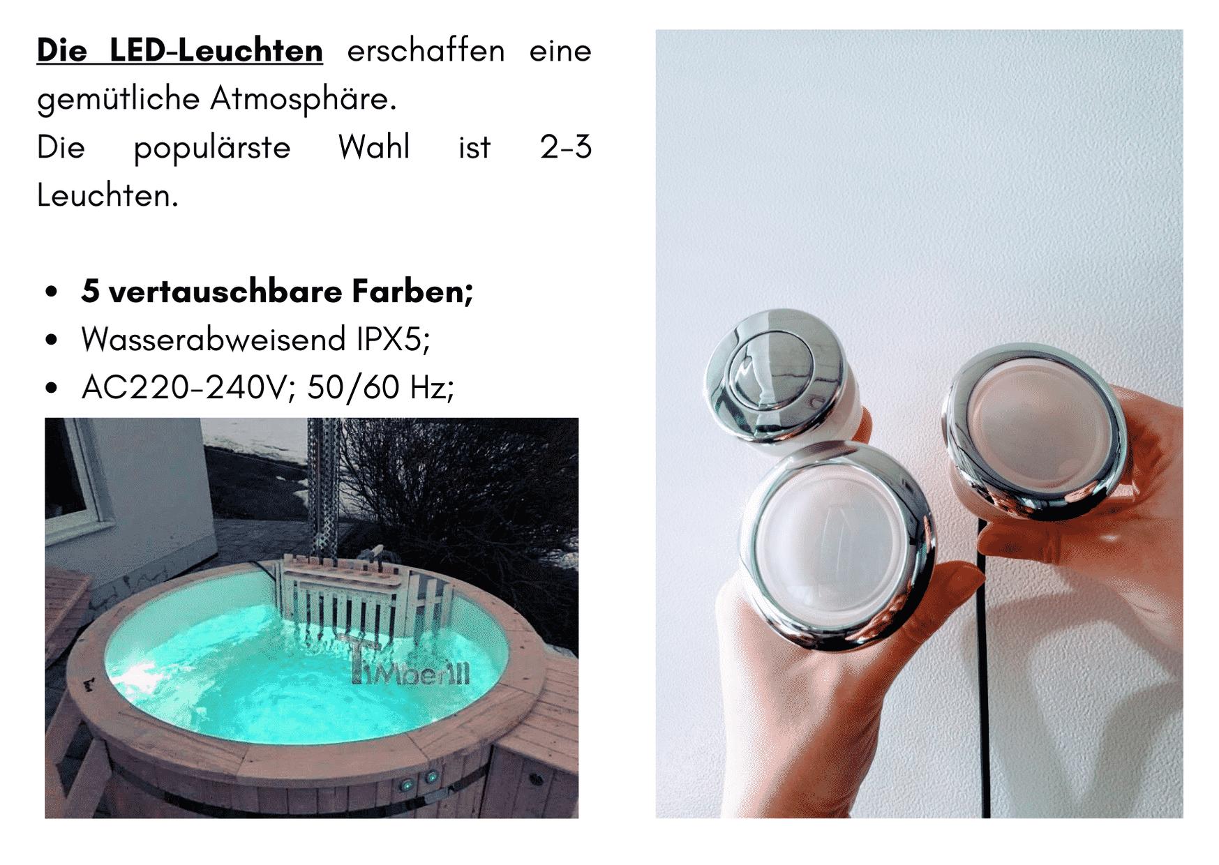 Badezuber mit Kunststoffeinsatz fuer Selbstgestaltung 6