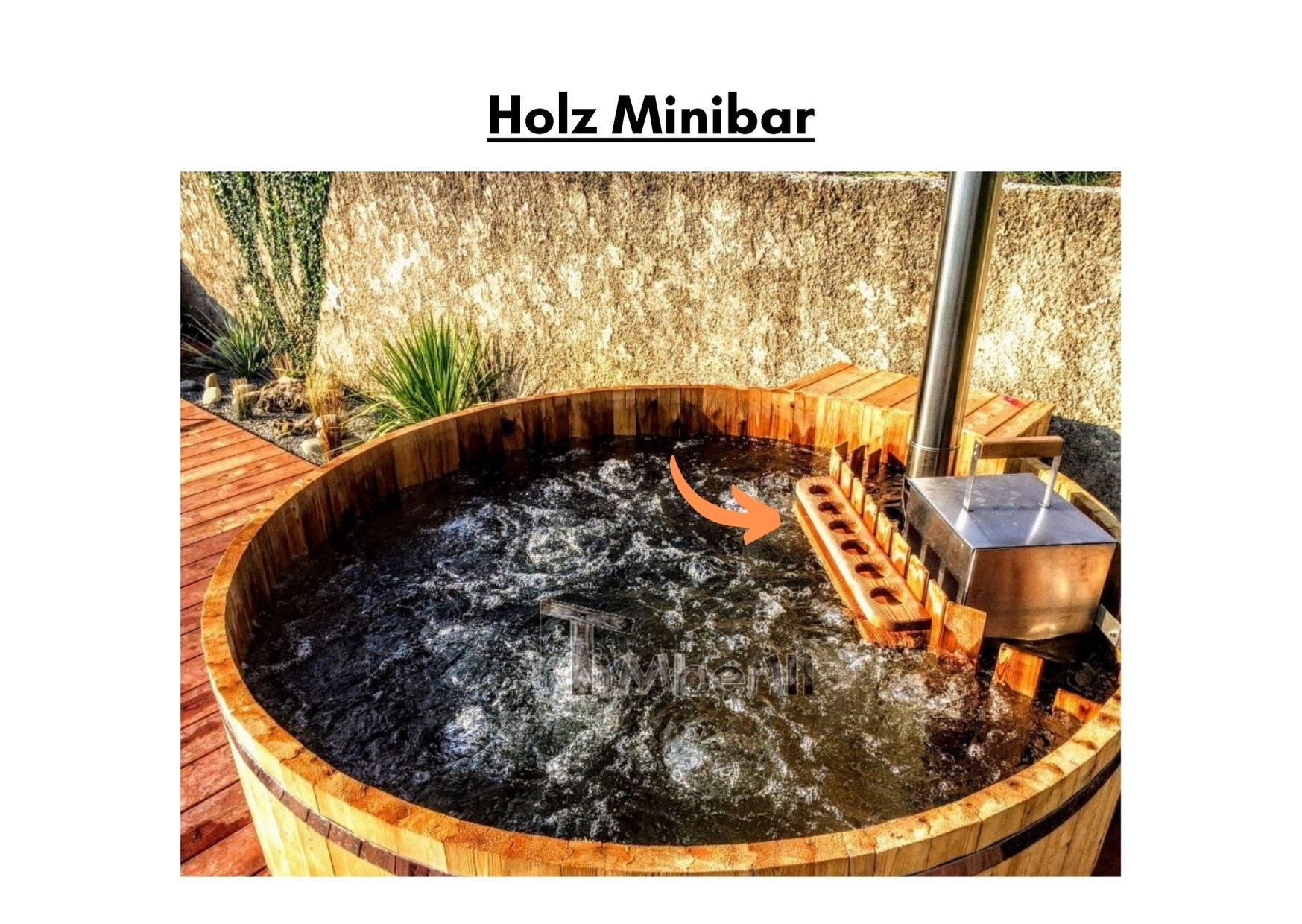 Holz Minibar