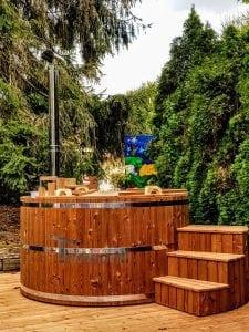 Holzbadebottich aus Thermoholz Basic 1