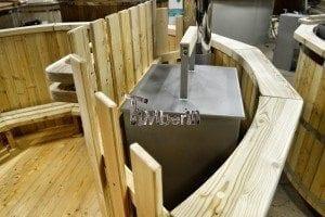 Holzbadezuber deluxe Modell 5