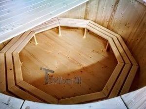 Holzbadezuber mit aussenofen 6