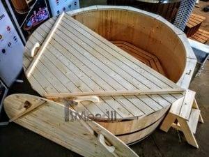 Holzbadezuber mit aussenofen 8
