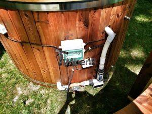 Badezuber mit GFK Einsatz mit Elektroofen 2 23