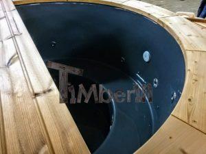 Badezuber mit GFK Einsatz mit Elektroofen 3 17
