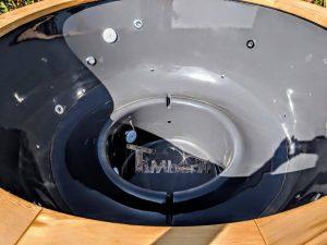 Badezuber mit GFK Einsatz mit Elektroofen 4 12