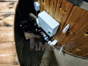 Badezuber mit GFK Einsatz mit Elektroofen5 20