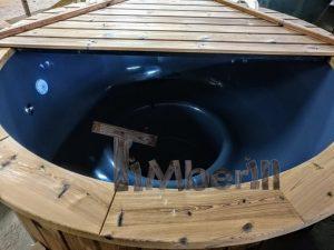 Badezuber mit GFK Einsatz mit Elektroofen5 23