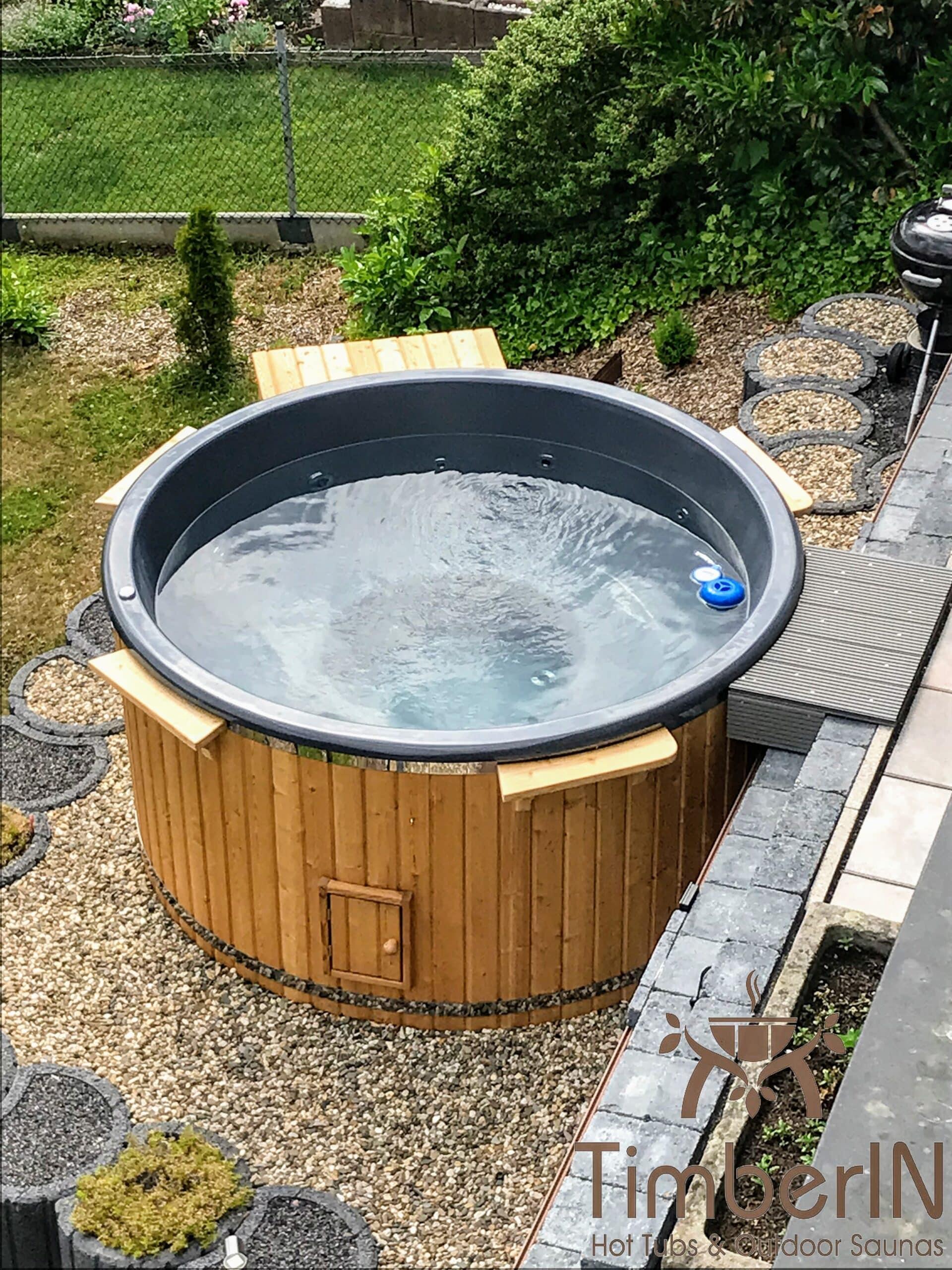 Schwedischer Badezuber Badefass mit Elektroofen Elektrisch 1 scaled