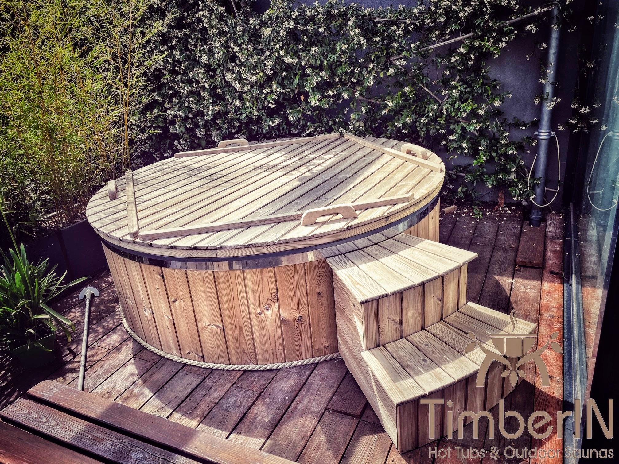 Schwedischer Badezuber Badefass mit Elektroofen Elektrisch 3 2
