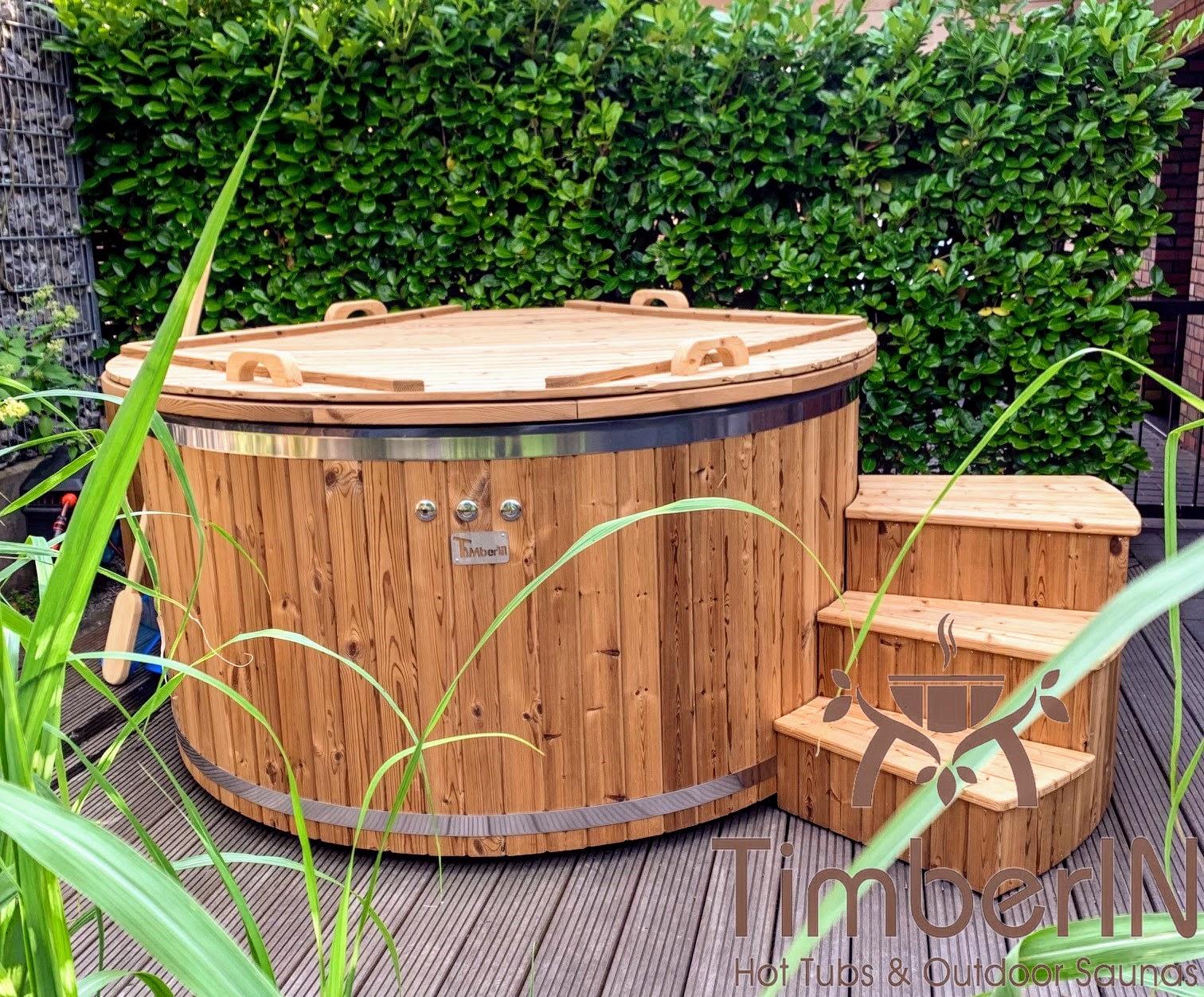 Schwedischer Badezuber Badefass mit Elektroofen Elektrisch 5