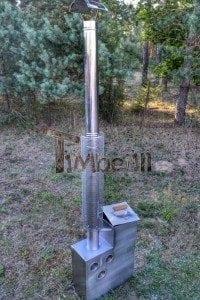 Edelstahl oder Aluminium Innenofen 1