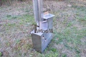 Edelstahl oder Aluminium Innenofen 11