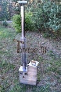 Edelstahl oder Aluminium Innenofen 2