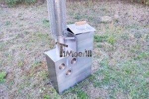 Edelstahl oder Aluminium Innenofen 7