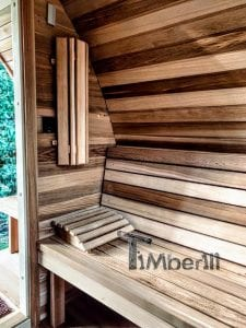 Außensauna für Garten Iglu Design 4 1