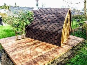 Außensauna für Garten Iglu Design 4 4