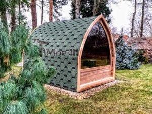 Außensauna für Garten Iglu Design 5
