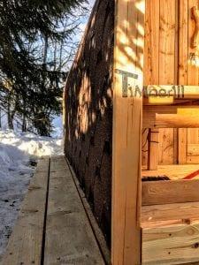 Außensauna für Garten Iglu Design 6 3