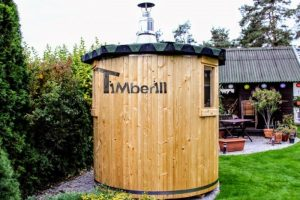 Vertikale Sauna DIY Projekt 2