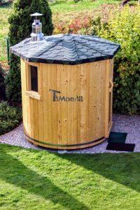 Vertikale Sauna DIY Projekt 3