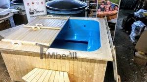 Badetonne eckig Micro Pool für 16 Personen Party tub 1