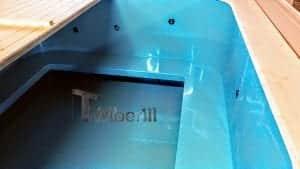 Badetonne eckig Micro Pool für 16 Personen Party tub 10