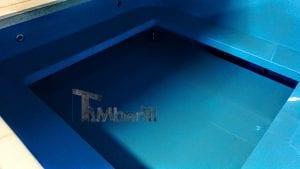 Badetonne eckig Micro Pool für 16 Personen Party tub 11