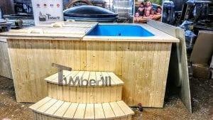 Badetonne eckig Micro Pool für 16 Personen Party tub 12