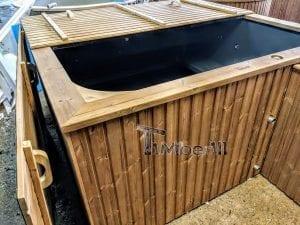 Badetonne eckig Micro Pool für 16 Personen Party tub 14
