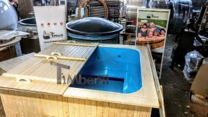 Badetonne eckig Micro Pool für 16 Personen Party tub 3