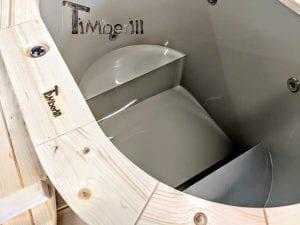 Badefass oval mit Kunststoffeinsatz für 2 Personen 14 1