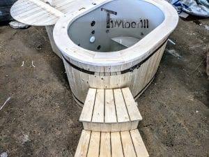 Badefass oval mit Kunststoffeinsatz für 2 Personen 5 1