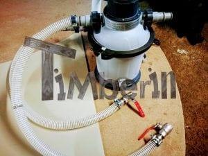 Wasserfiltrierungssystem der Badetonne 5