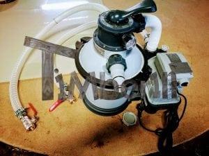Wasserfiltrierungssystem der Badetonne 6