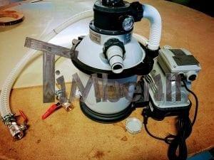 Wasserfiltrierungssystem der Badetonne 7