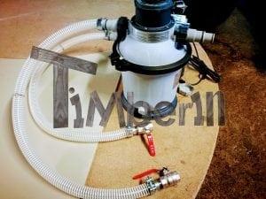 Wasserfiltrierungssystem der Badetonne 8