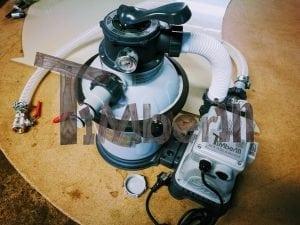 Wasserfiltrierungssystem der Badetonne 9