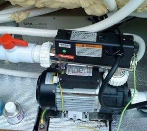 Elektroheizer für Whirlpools und Badezubern 4