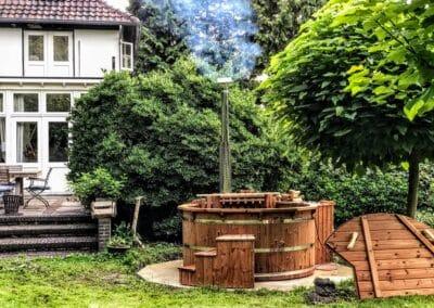 Badetonne Badebottich Aus Holz Kaufen