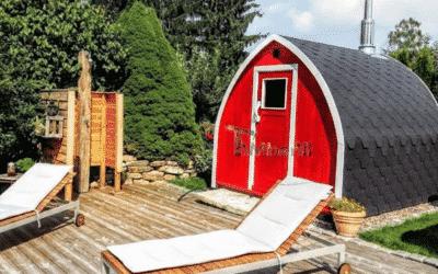Schutzanstrich von Holz-Badefässern und Außensaunen